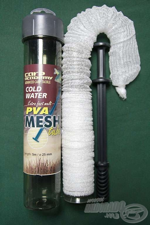 A hideg vízi PVA hálót már jégolvadástól használhatjuk