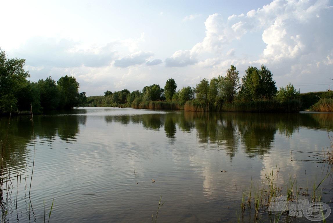 Tagolt, rendkívül változatos kis horgászvíz