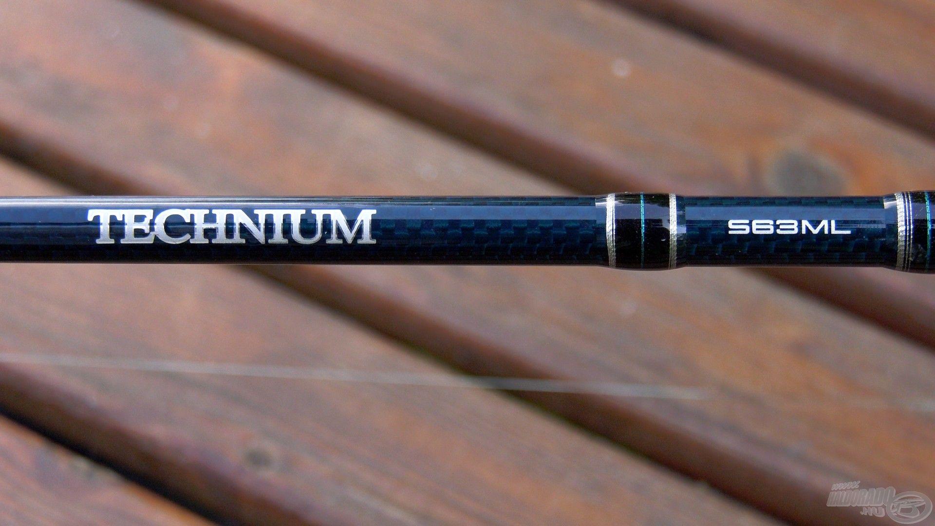 Az XT200-as karbon anyagnak köszönhetően villámgyors akciójú, hatalmas erőtartalékokkal rendelkező, mégis érzékeny pálca a Shimano Technium