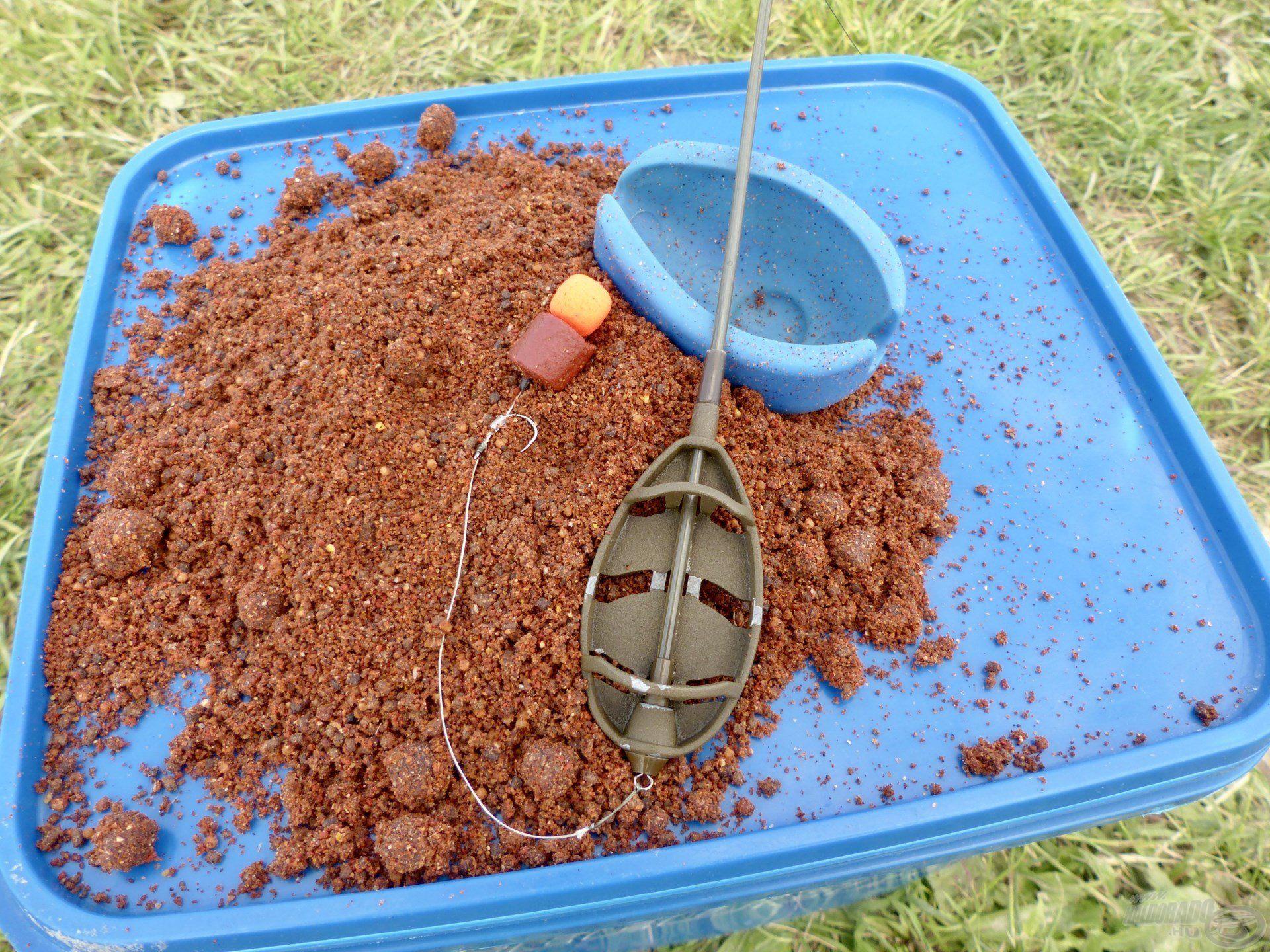 By Döme TEAM FEEDER Long Cast Method Feeder kosaras végszereléket használtam a horgászat során