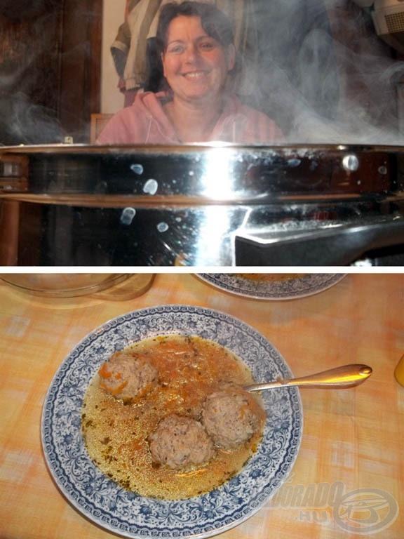 A fenséges leves… és aki mögötte van, a szépasszony, aki megalkotta