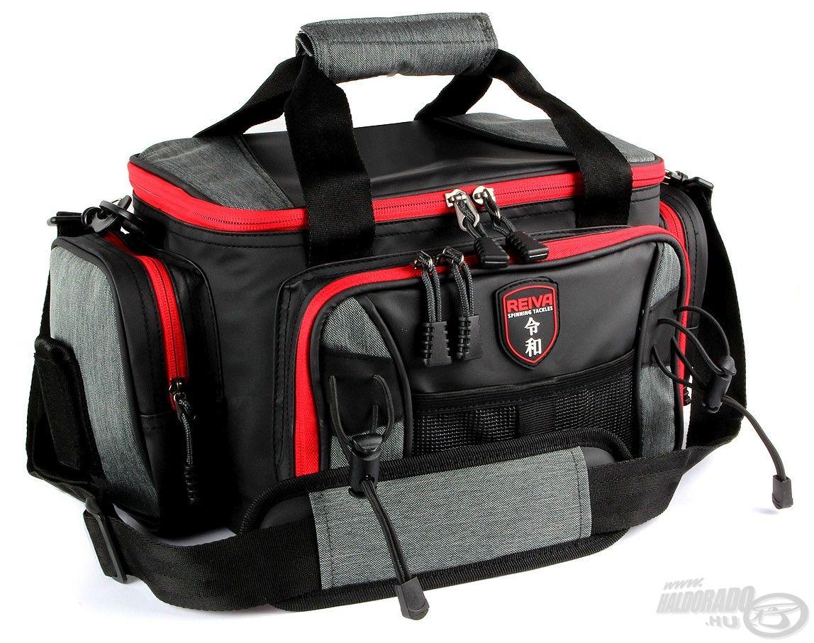 Pergető táska 4 dobozzal, nagy méret