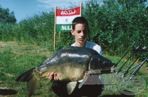 Élmény volt a nagy halakkal megbirkózni