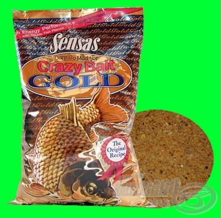 Sensas Crazy Bait Goldot a dupla hal íz tesz teljessé