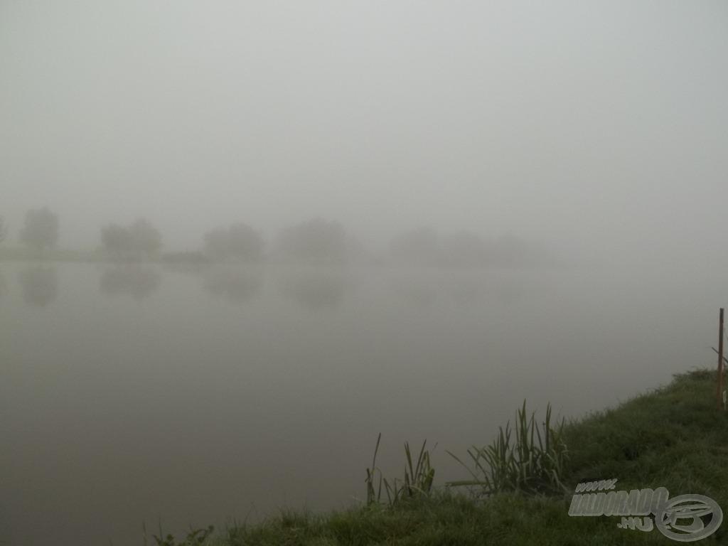 Az idén, az ősz közepén, déli ködben, Tiszakécskén