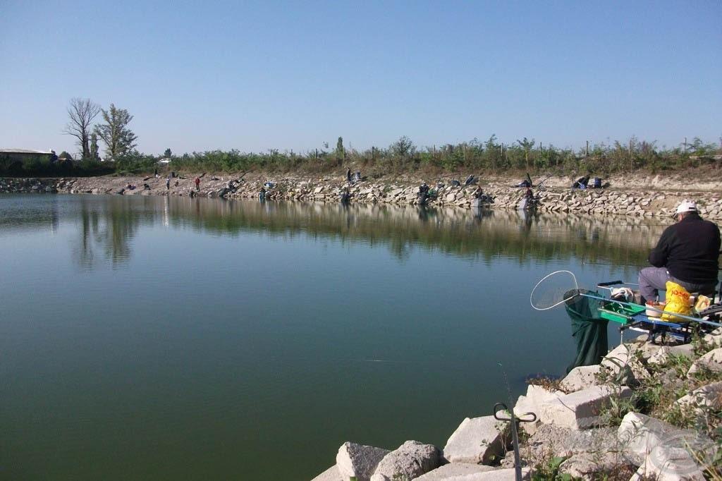 A komáromi Bocska-tó komoly kihívás minden versenyző számára