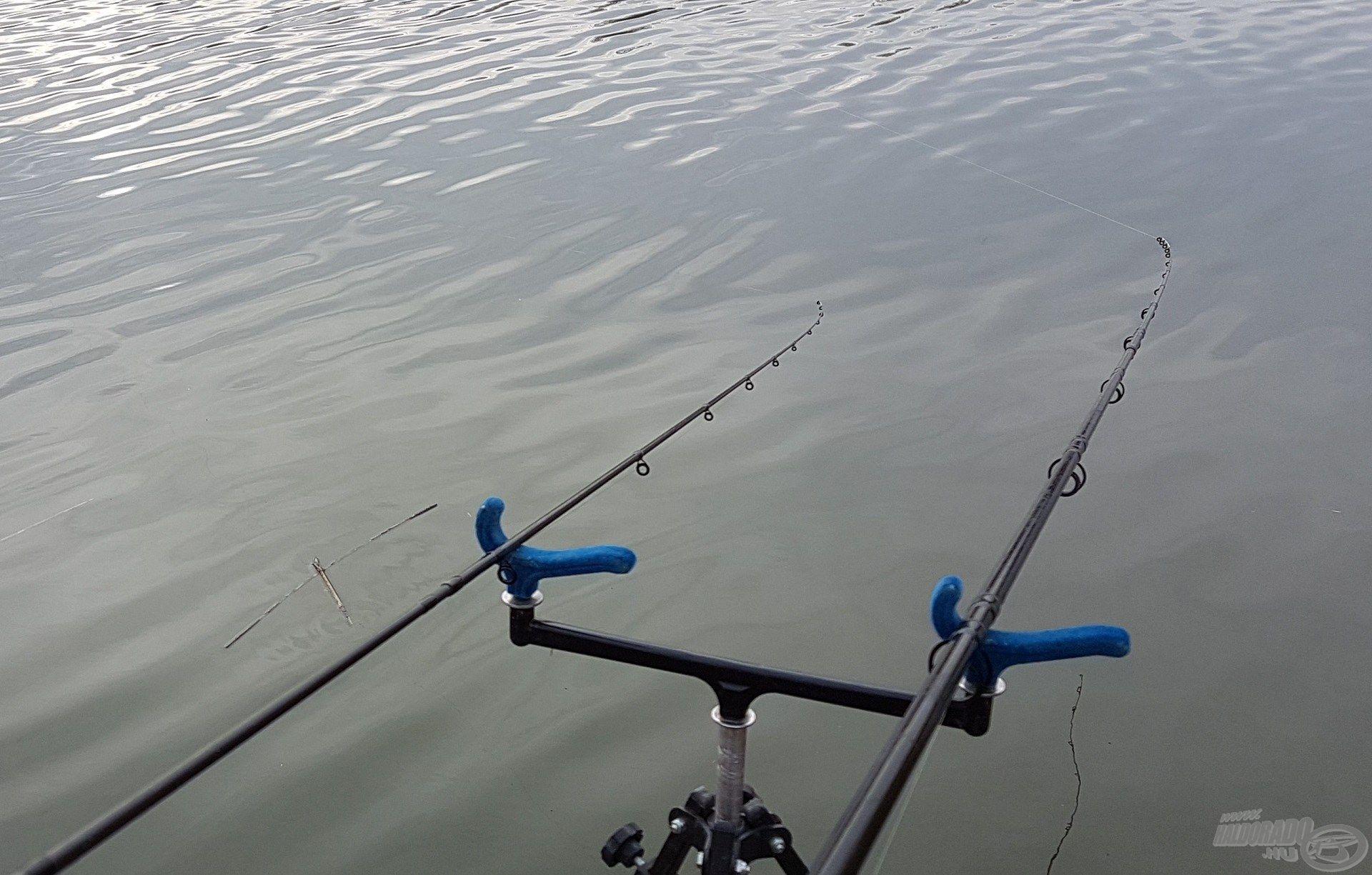 A jégmentes vízfelszín lehetővé tette az idei horgászat korai megkezdését