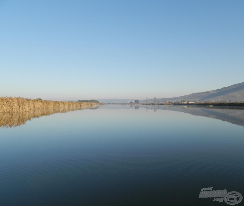 Nagy vízterület, még ha nem is tűnik annak…