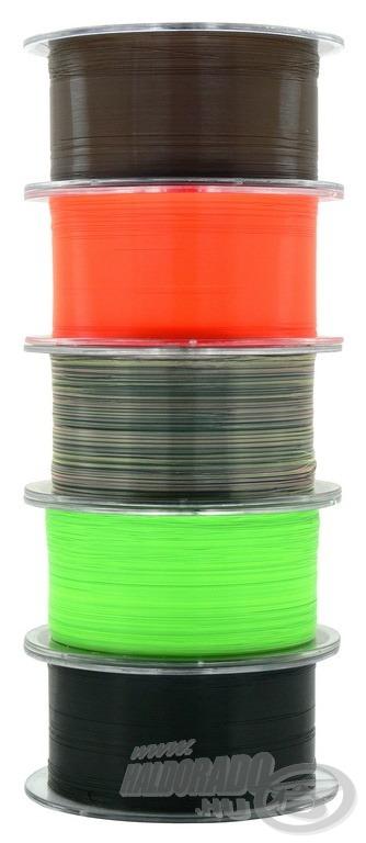 Az új színezetű zsinórok forradalmasíthatják a horgászatot