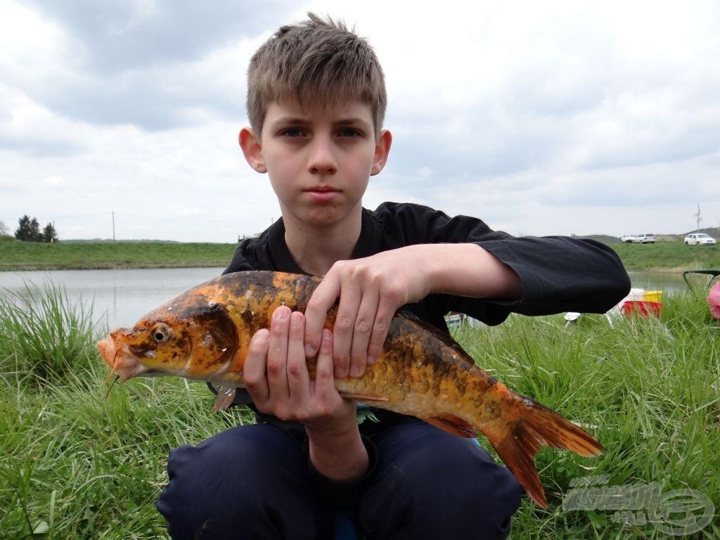 Ki fogott szebb halat? 1.