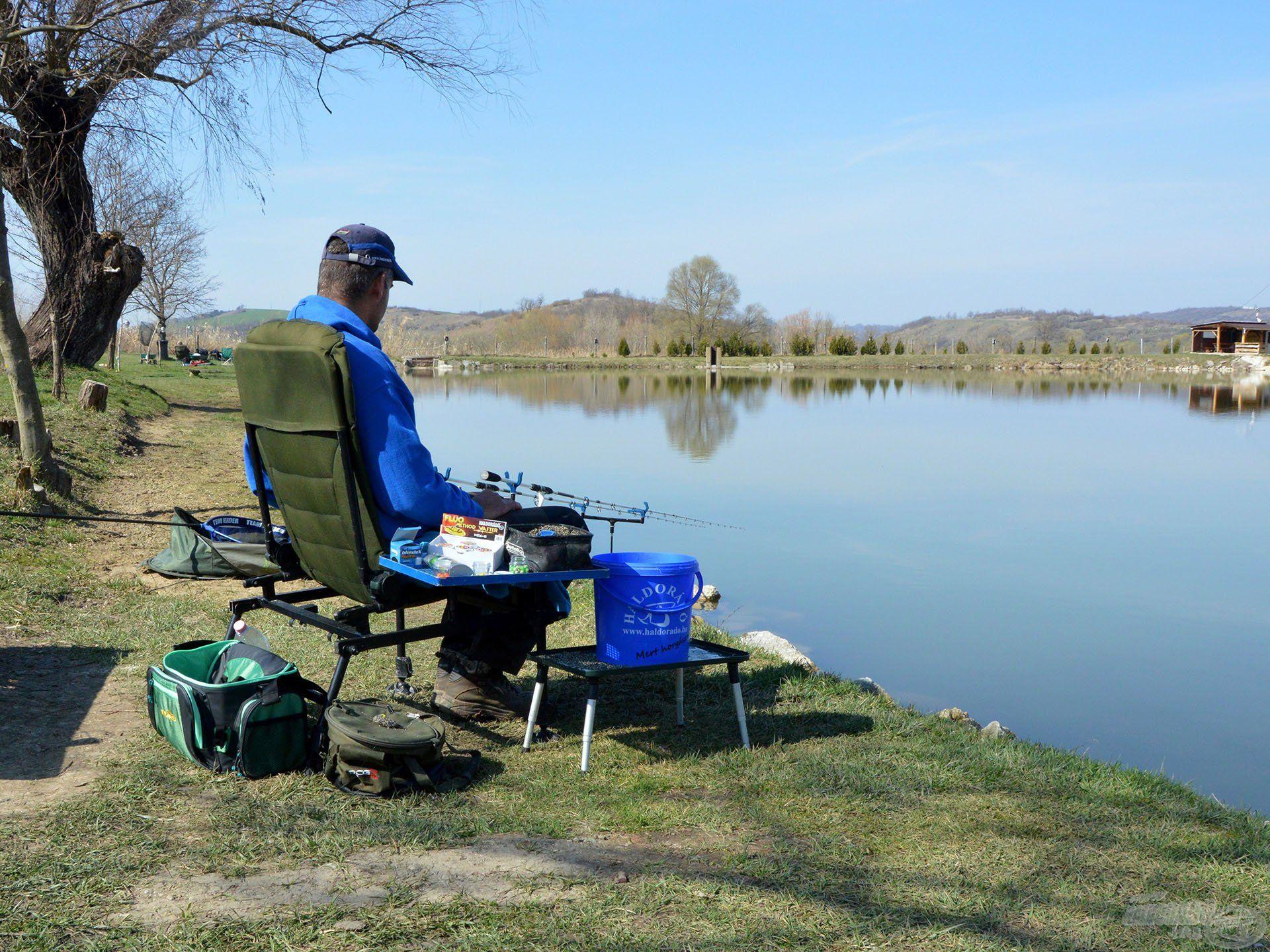 """A tavaszi horgászatokon még ki kell """"ülni"""" a kapást"""