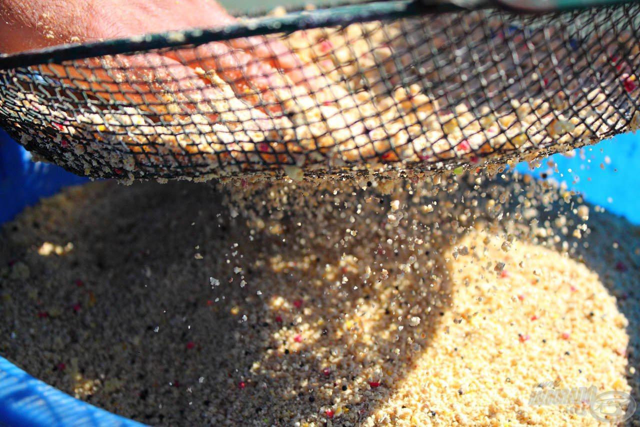 Rostálással minden etetőanyagot kezelhetőbbé lehet tenni
