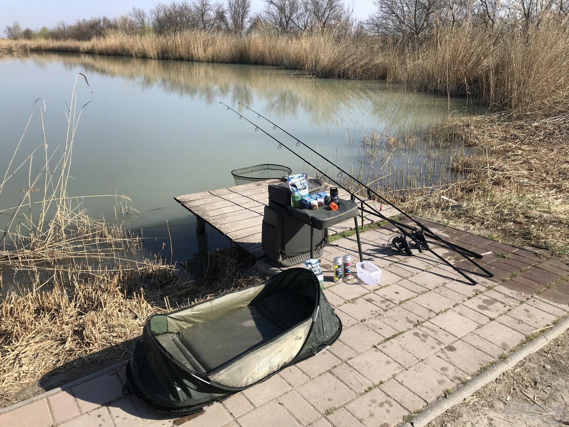A rövid, gyors horgászatokhoz nem kell sok felszerelés, csak azt viszem magammal, amire mindenképpen szükségem van