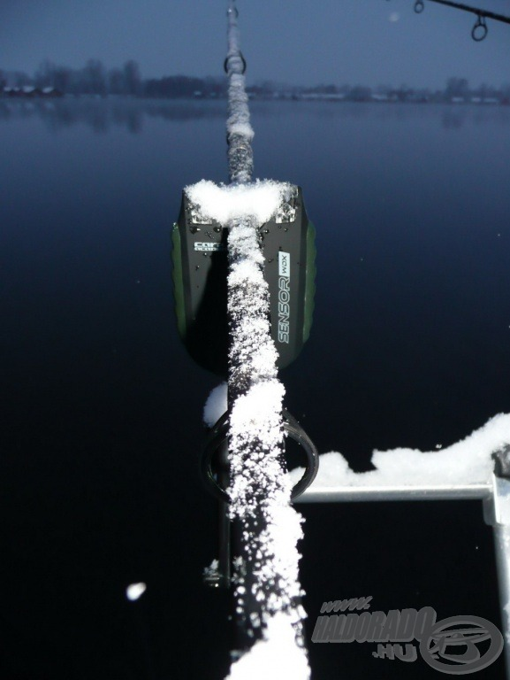 Vajon a mínusz 8-10 fokos hideget és havat is kibírja, ekkor is működik elektromos kapásjelzőm? Később kiderült, a válasz IGEN!