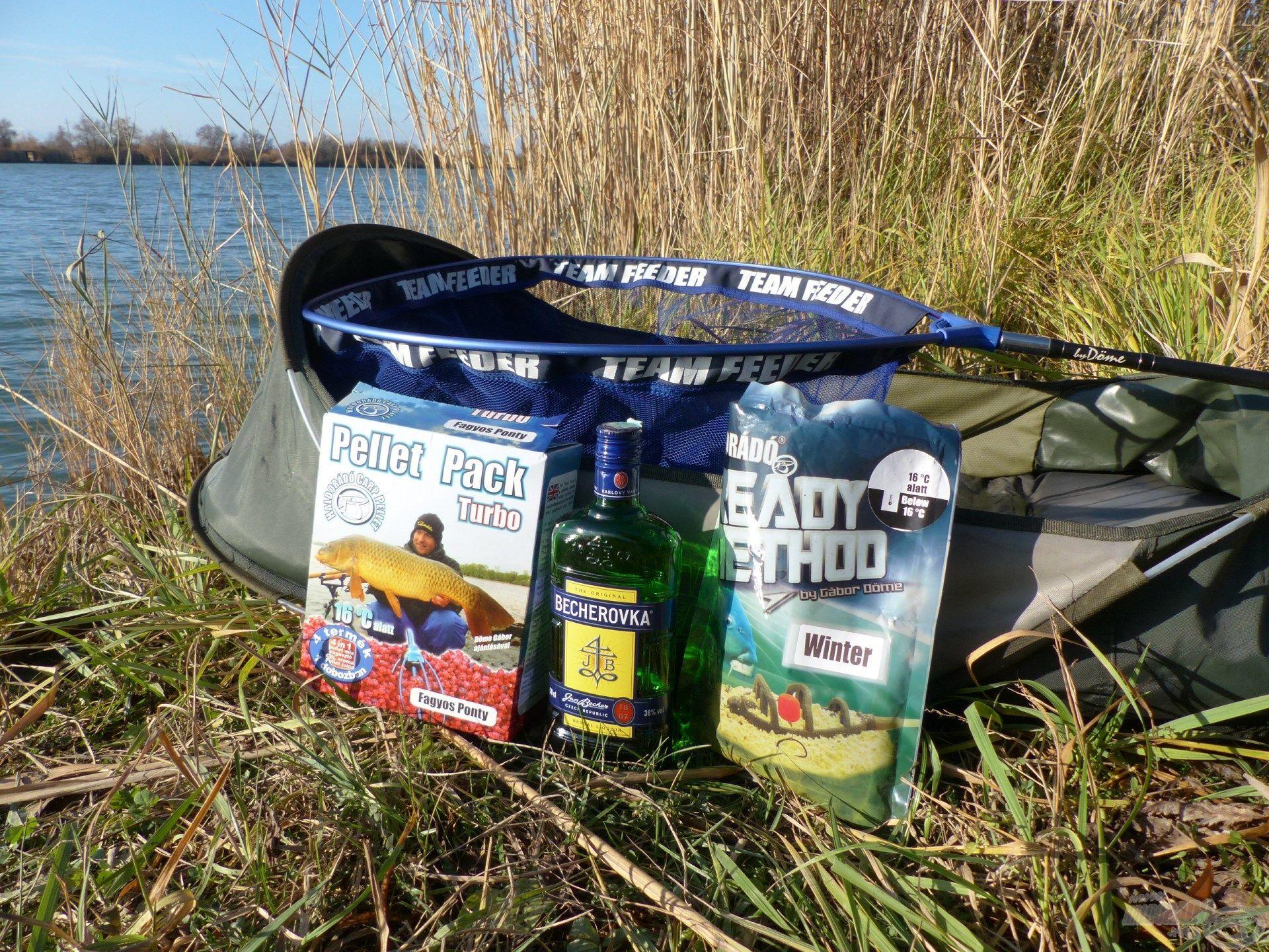 A hideg vízi horgászatokhoz remek megoldást jelent az alkoholos keverékek használata…