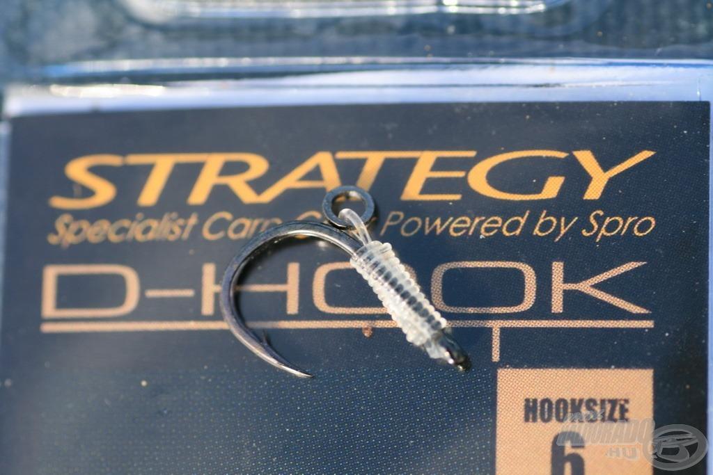 A Strategy D-hook horoggal biztosabb az akadás