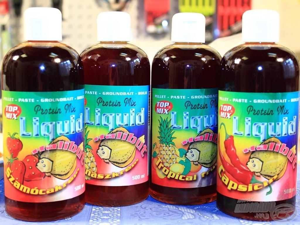 A Protein Mix Liquidek halibut olaj alapú, magas fehérjetartalmú etetőanyag adalékok