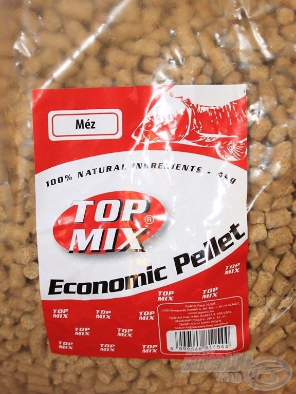 Az Economic pelleteket akár alapozó etetésre is használhatjuk