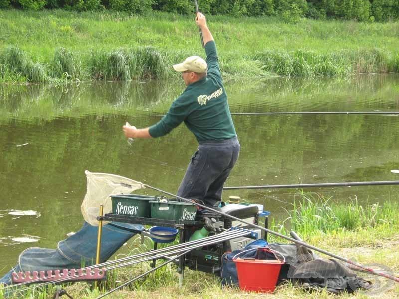 """Csak jól átgondolt és """"pörgős"""" horgászattal lehetett jó eredményt produkálni"""