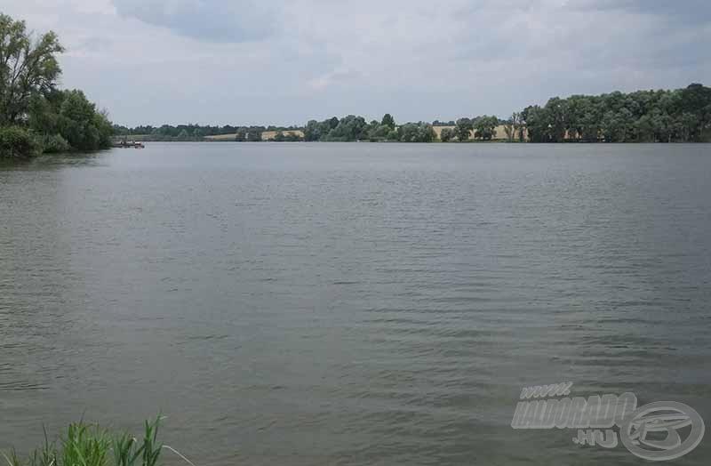 A nagy vízfelület nagy kihívást is jelent