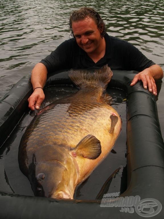 39,9 kiló, amelyet Markus Pelzer fogott