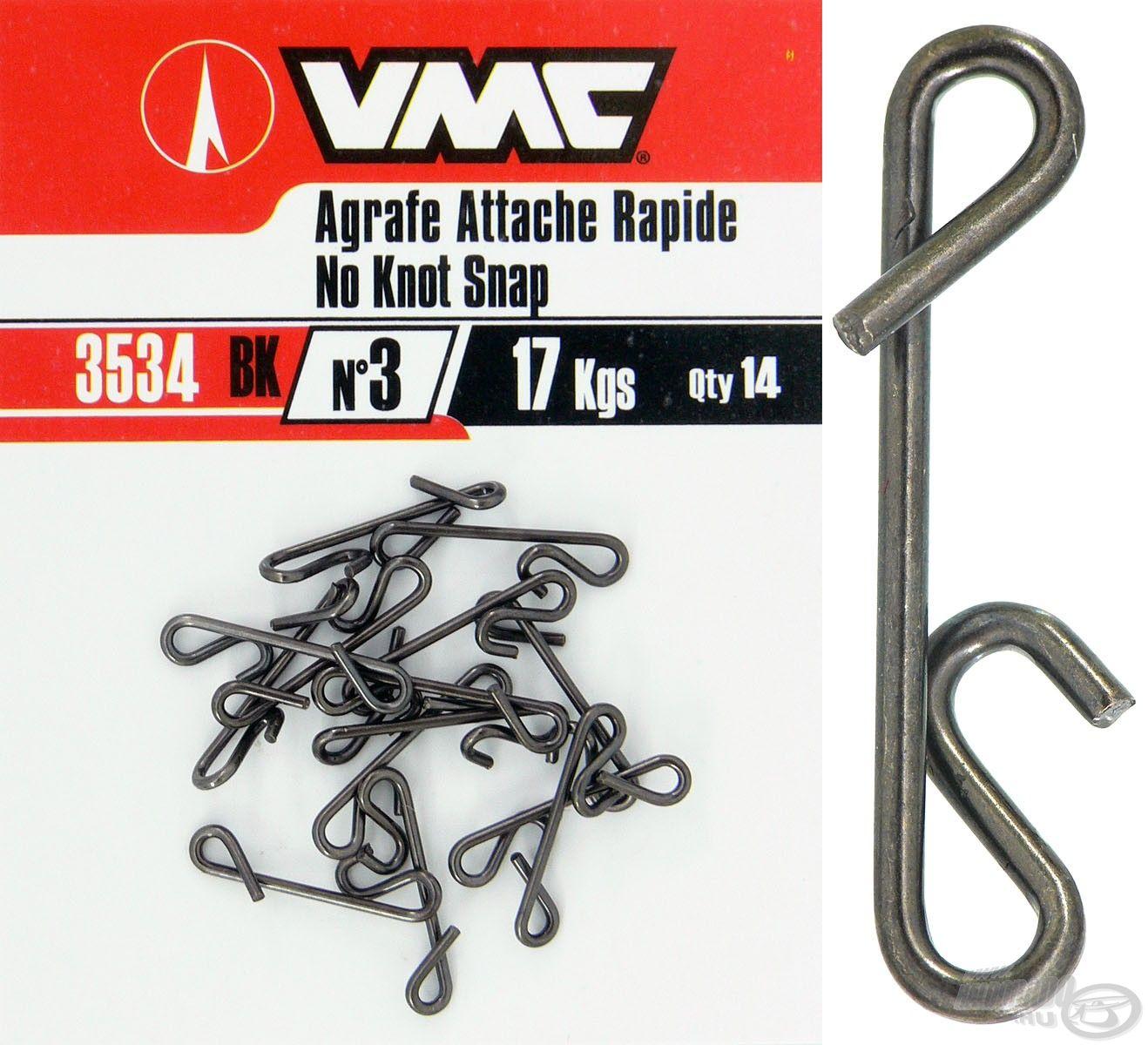 Ez a not-a-knot kapocs egy klasszikus kivitelű, egyszerű, ám rendkívül erős típus!