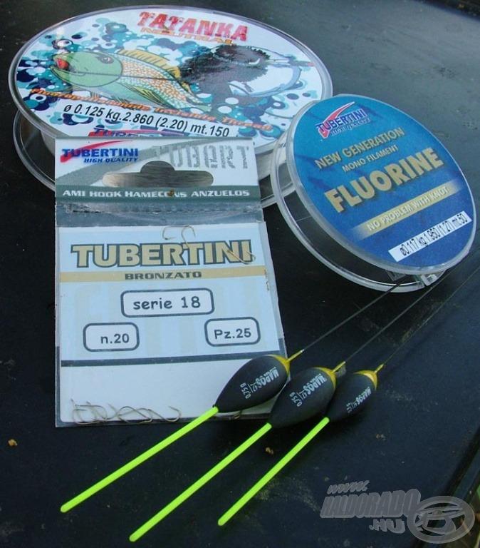 A gyors horgászatnál fontos, hogy ne gubancolódjon a szerelékünk. Emiatt Szilárd a szokásosnál egy kicsit vastagabb zsinórokat, erősebb horgot és olyan úszót használ, melynek antennája terhelhető, ezért akár vízközti horgászathoz is kiváló…