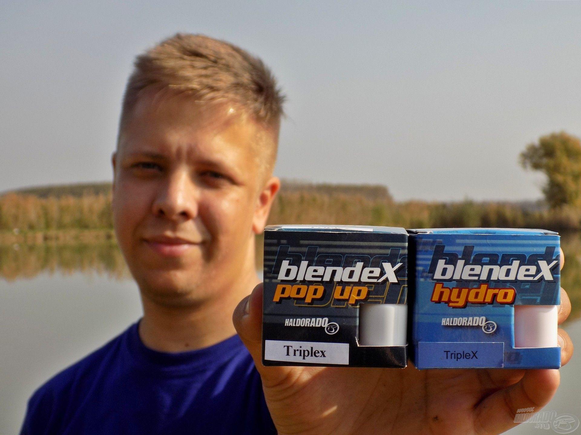 Az új BlendeX - TripleX Pop Up és Hydro csalik engem maximálisan meggyőztek! A halakra nem hat a marketing, ezért valós reakciót tükröz, hogy nagyon könnyen lehetett kapásig-halfogásig eljutni ezzel a csalival, bárhol is tettem próbára