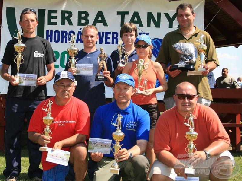 A 2008-as egyéni verseny díjazottjai