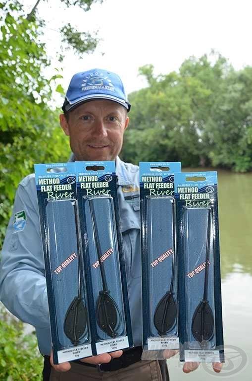 Már 4 különböző méretű Method Flat Feeder River kosár közül választhatnak a folyóvízi horgászok