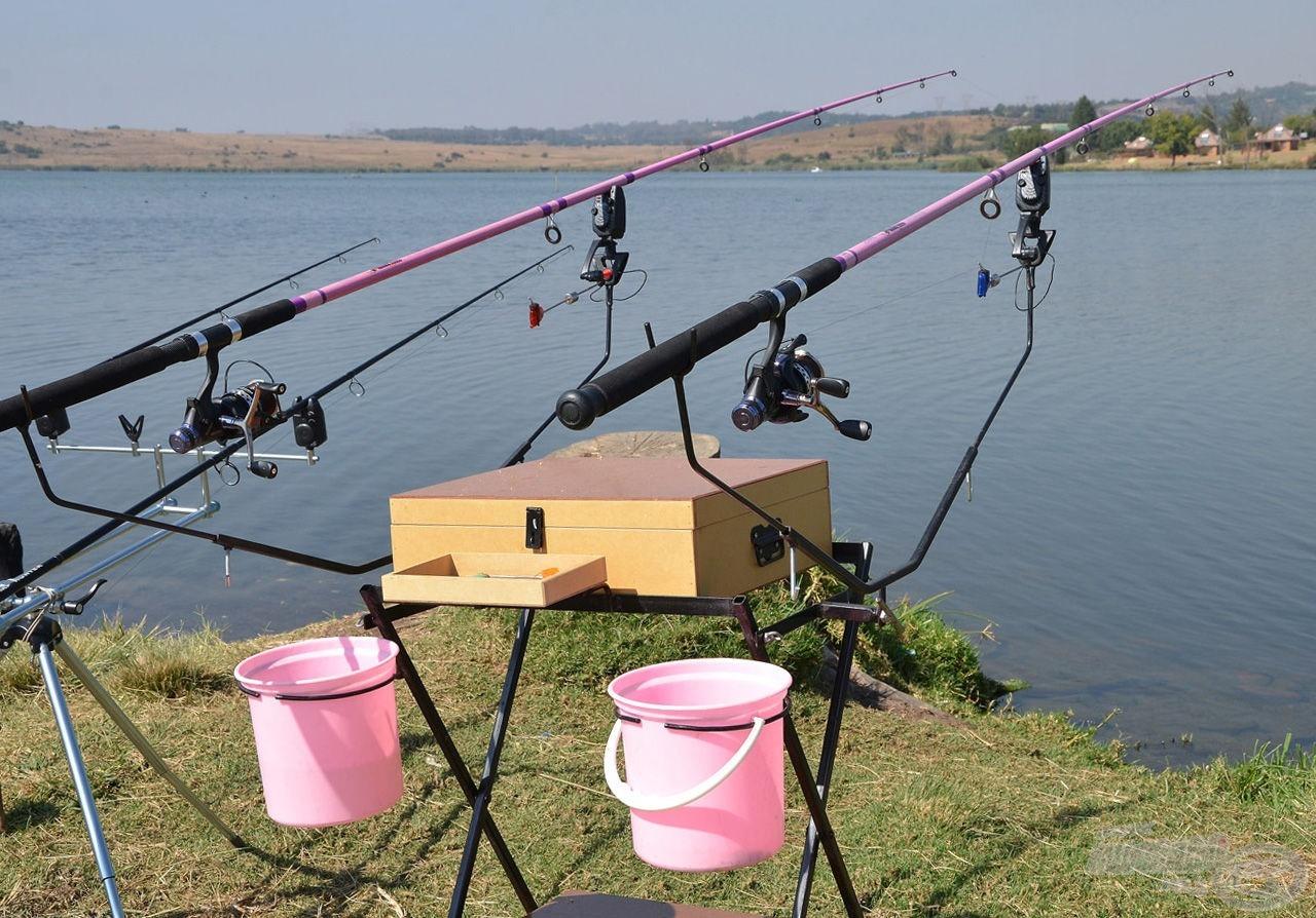 Olyannyira népszerű ez a horgászstílus, hogy a család női tagjai is horgásznak, számukra a gyártók külön színvilággal kedveskednek