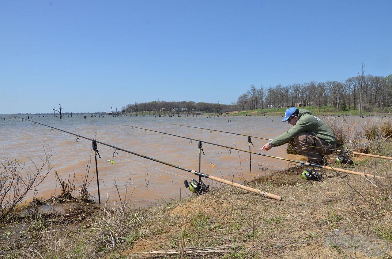 … hogy legyen mivel horgásznom, amelyet ezúton is köszönök!