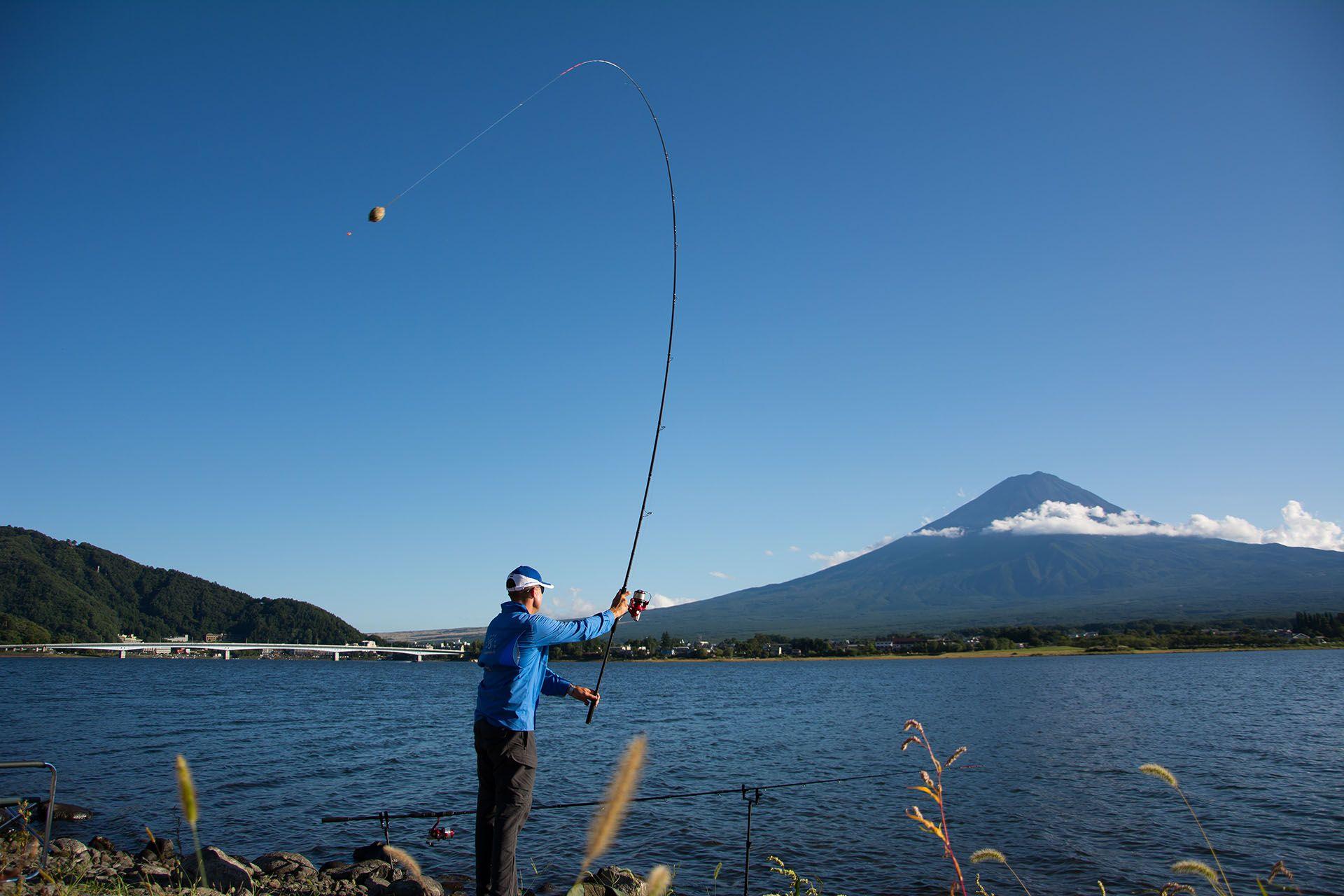 A korábbi horgászat helyén jelentősen túldobva próbálkoztam