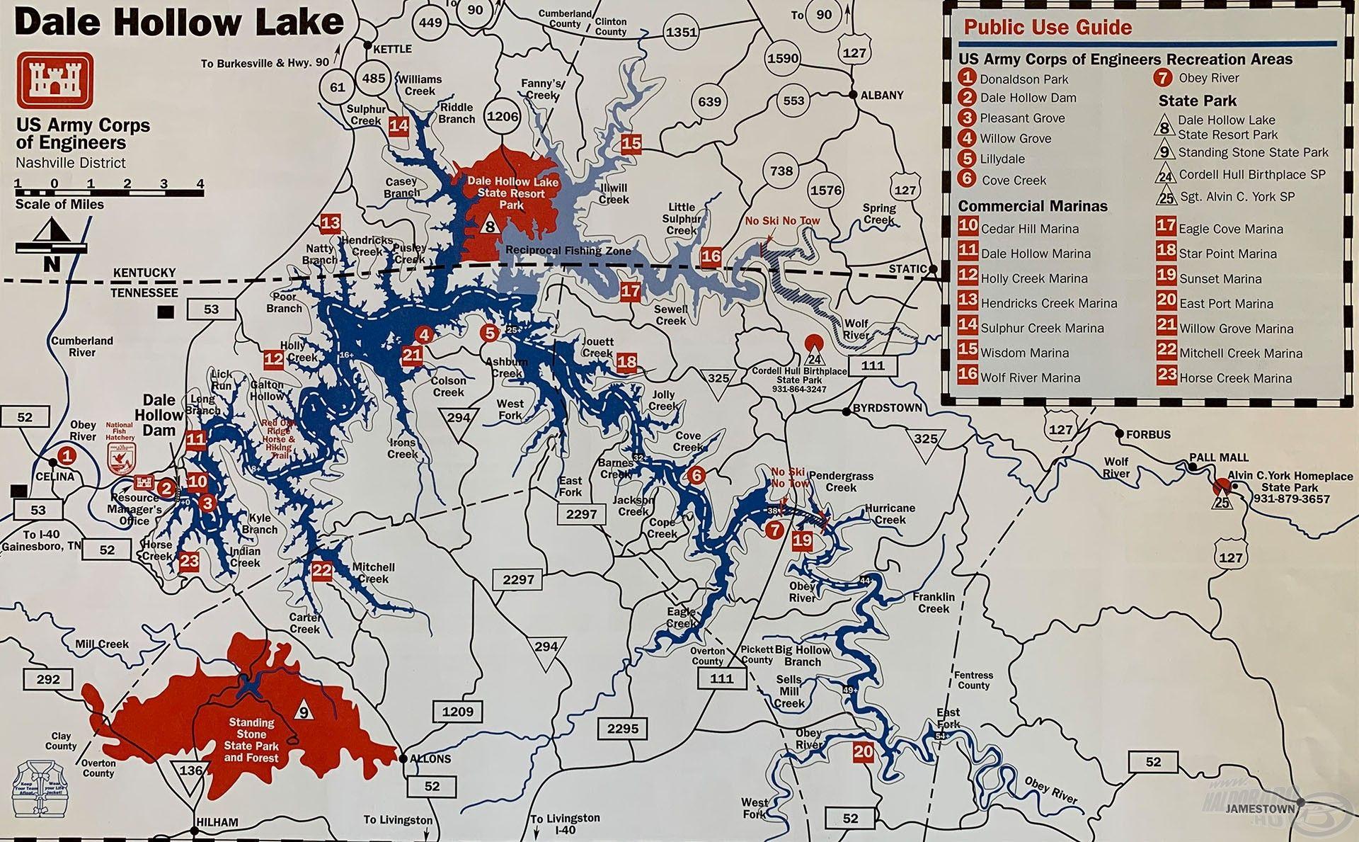 Ez a vízrendszer térképe. Mi is meglepődtünk, amikor ránéztünk, hiszen a partvonala több mint 1000 km!