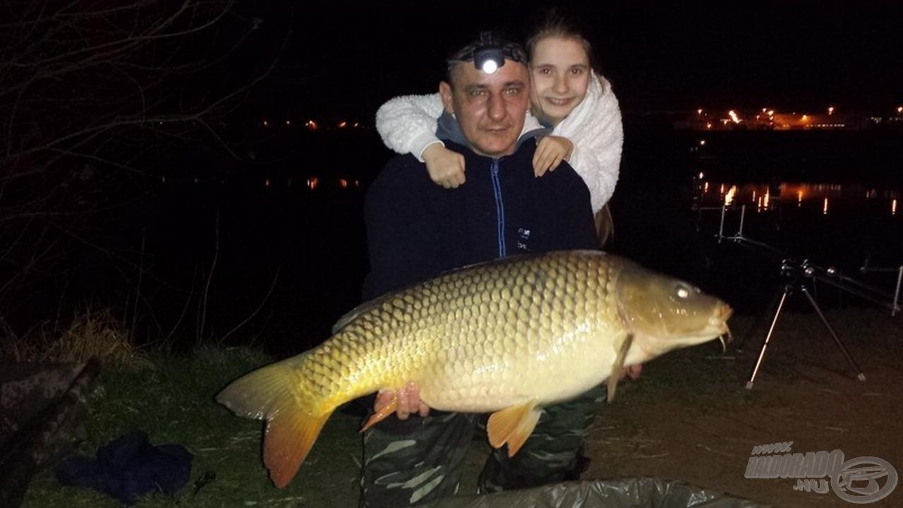 Trnyik Gábor 17,02 kg-os egyéni rekordját a Big Fish-nek köszönheti