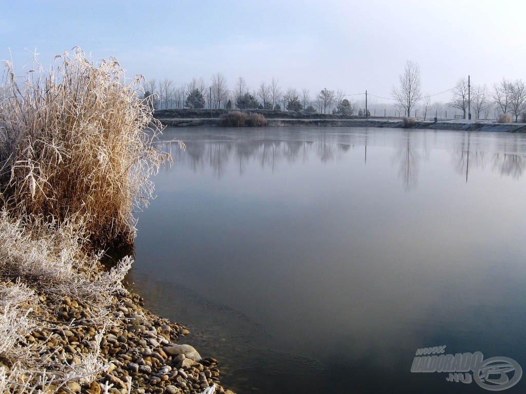 Bekövetkezett, amitől tartottunk: befagyott a tó nagy része!
