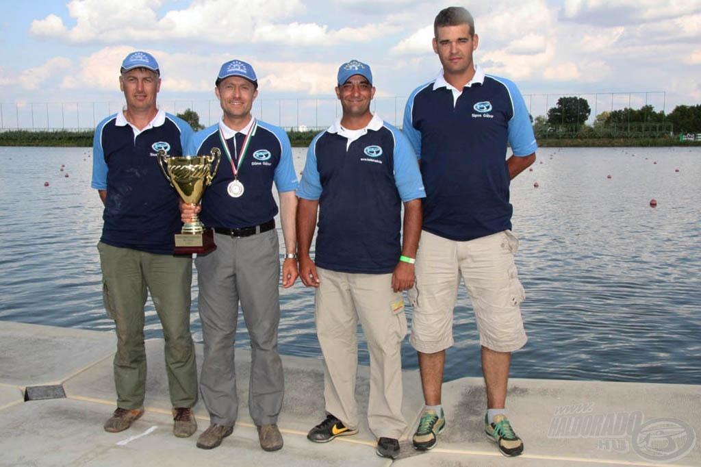 Az egyéni verseny ellenére a siker kizárólag a Haldorádó Feeder Team csapatmunkájának volt köszönhető!