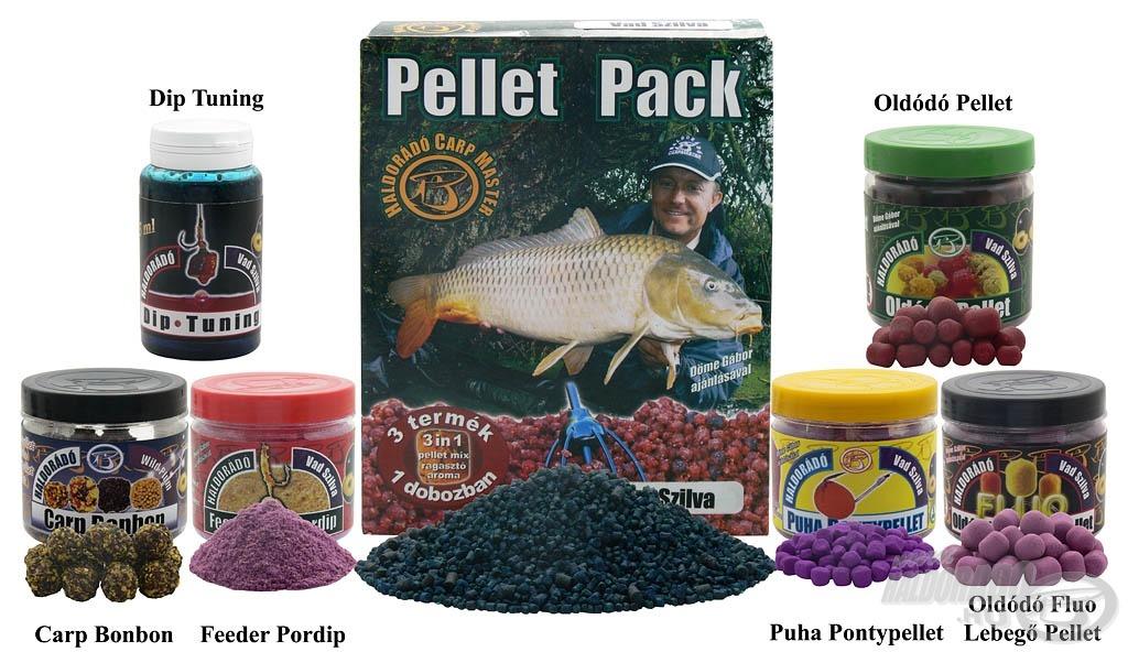A Vad Szilva család ezzel a hét speciális termékkel válik teljessé, amelyek főként a nagyhalas horgászatok során bizonyították rendkívüli fogósságukat (sokat fogunk még ezekről a következő években hallani!)