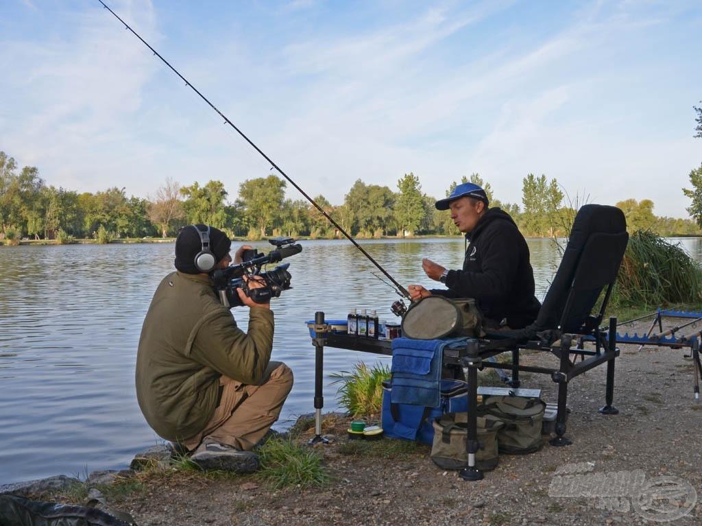 A horgászat minden fontos mozdulatát megörökítettük, mindez most már Full HD minőségben is megtekintő!
