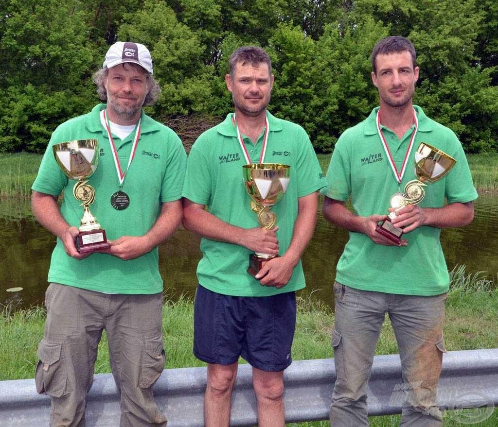 Az Országos Egyéni Horgász Bajnokság elődöntőjében a WalterLandos versenyzők tartoltak!