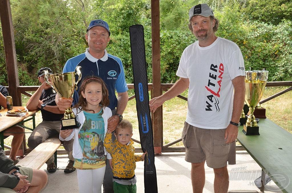Az augusztusban megrendezett Walterland Feeder Kupa remek felkészülési verseny volt az OB-ra, ahol az előkelő harmadik helyet szerezte meg. Gábort a családja is maximálisan segíti, támogatja horgászatai során
