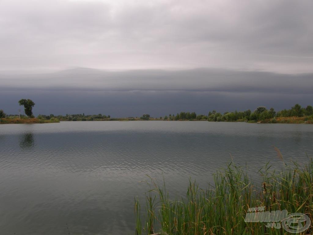 Vihar közeleg