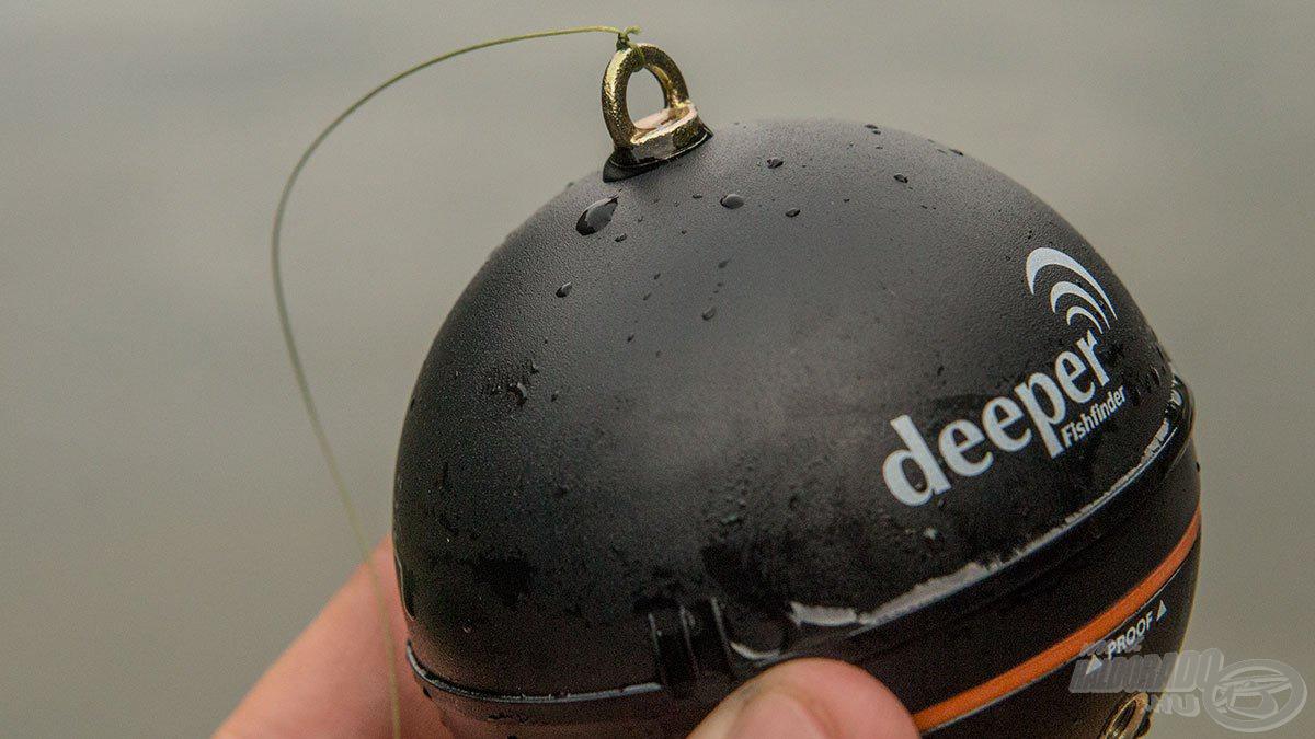 … a partról dobható Deeper radar is a polcon lesz…