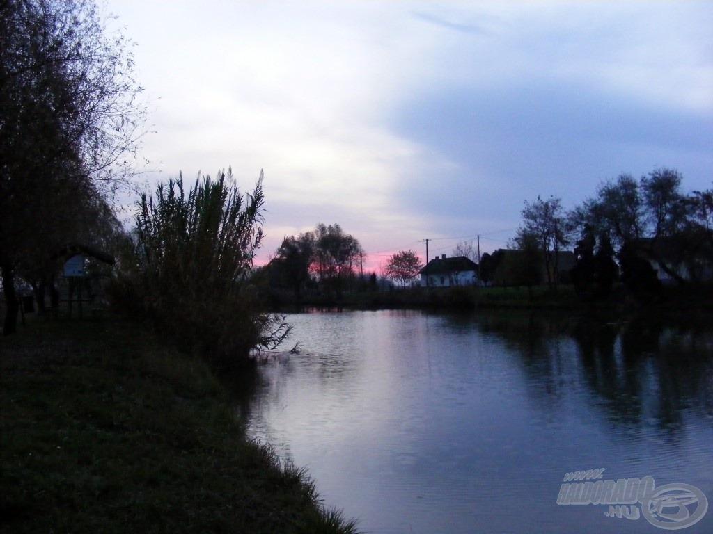 Csodaszép kis tó, mindig szívesen térek ide vissza