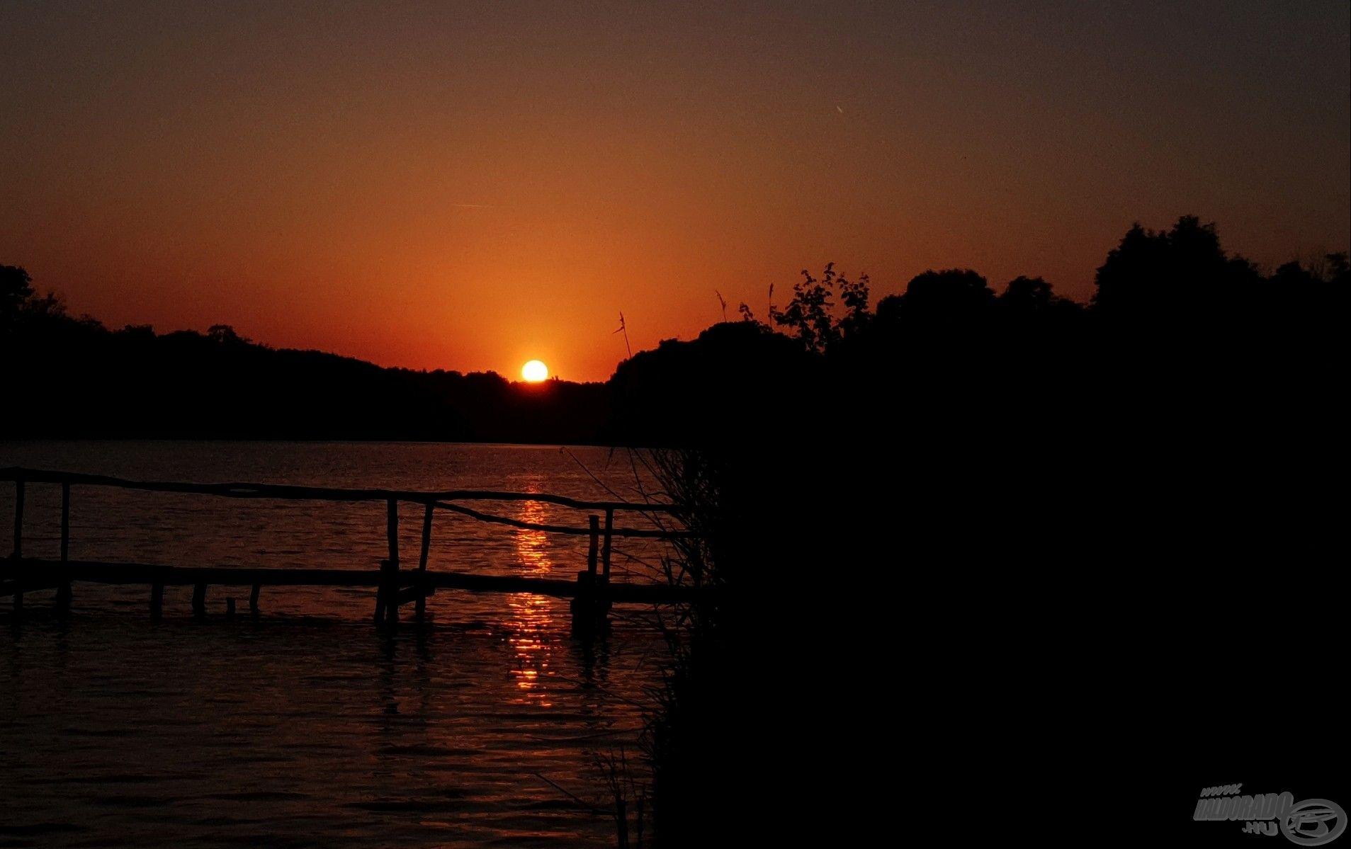 Hiába vártuk bizakodva a naplemente utáni órákat…
