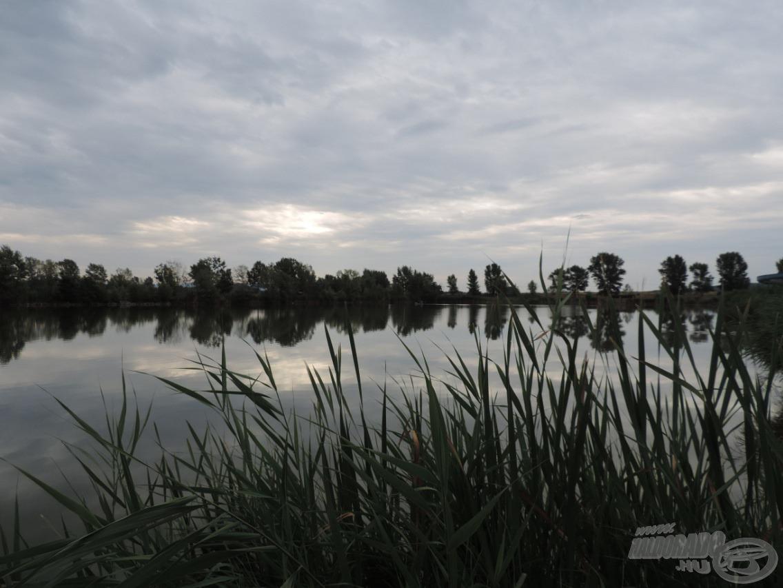 A nap nagy részében felhős, szeles idő uralkodott, de kellemes volt 25 fokban horgászni az elmúlt hetek kánikulái után. Szerencsére a borús idő nem befolyásolta a halak kapókedvét