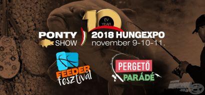 X. Magyarországi PontyShow meghívó