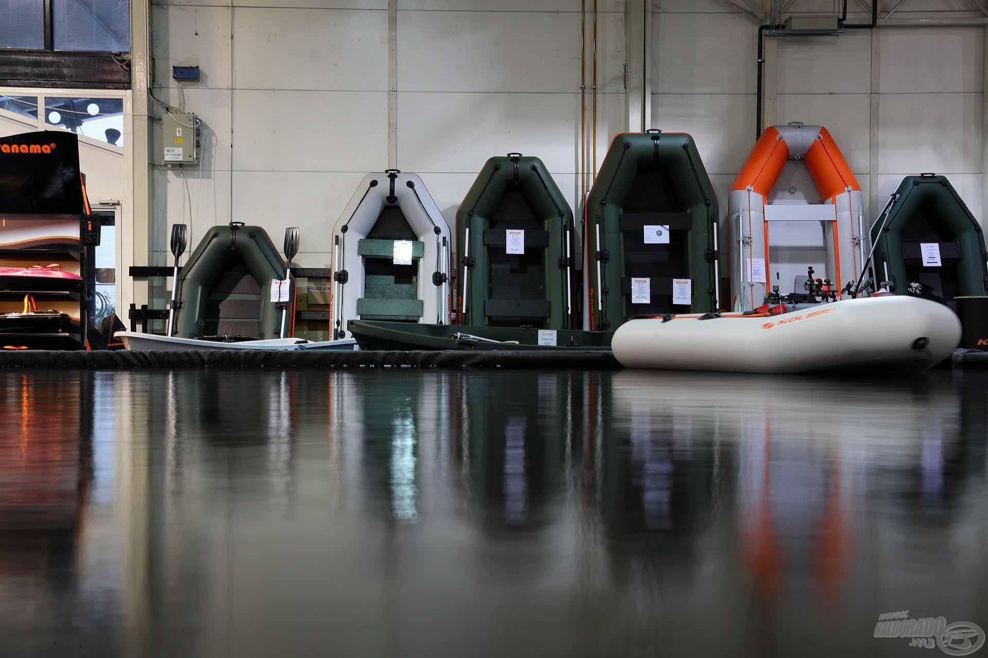 …és csónakok az épített tavakon – ezt ki kell próbálnod!