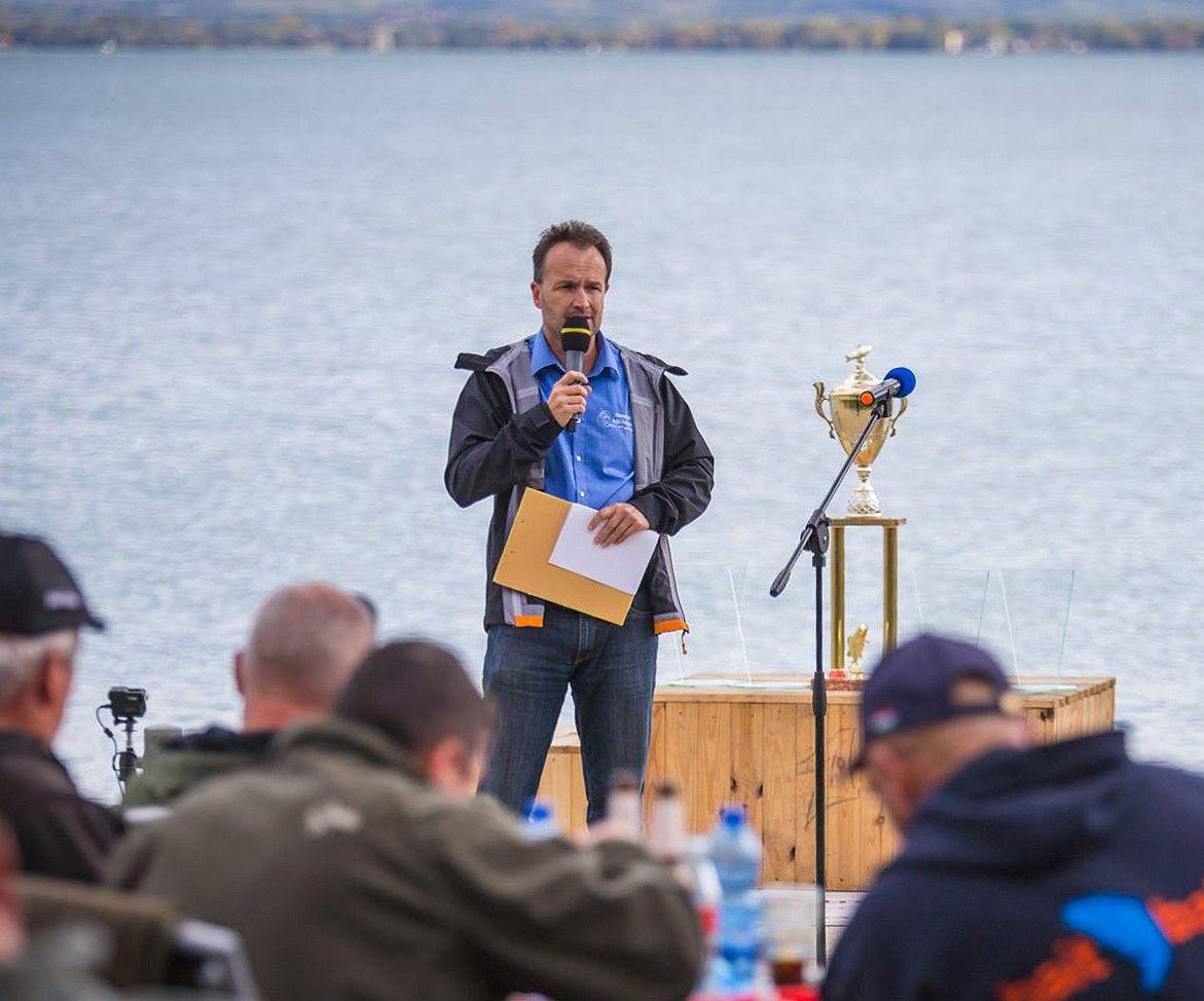 Ismét ellátogat hozzánk Szamosi Attila, a Nemzetközi Balatoni Bojlis Horgászverseny főszervezője