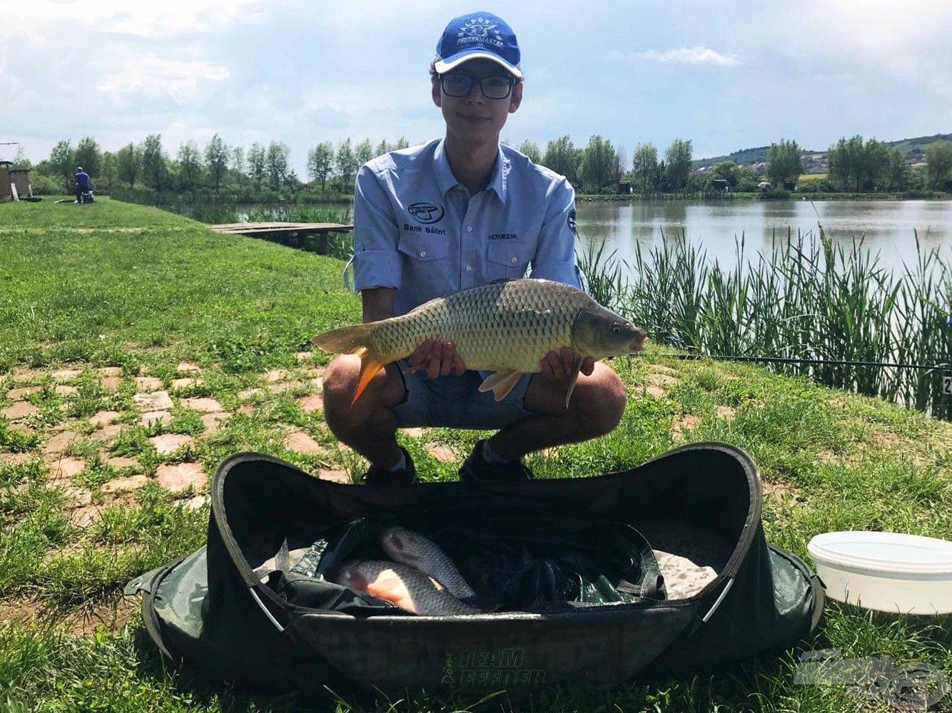 6,30 kg a halak súlya, ezzel biztosan hoztam néhány helyet, már csak az a kérdés, hogy mennyit…